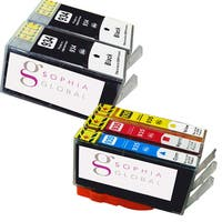 Sophia Global Compatible Ink Cartridge Replacement for HP 934XL and HP 935XL (2 Black, 1 Cyan, 1 Magenta, 1 Yellow)