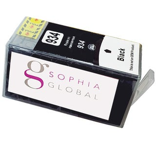 Sophia Global Compatible Ink Cartridge Replacement for HP 934XL (1 Black)