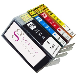 Sophia Global Compatible Ink Cartridge Replacement for HP 934XL and HP 935XL (1 Black, 1 Cyan, 1 Magenta, 1 Yellow)