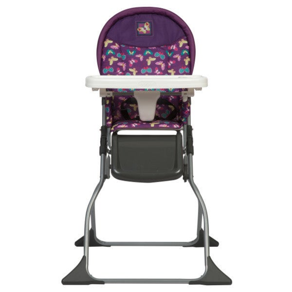 Shop Cosco Simple Fold In Butterfly Twirl High Chair