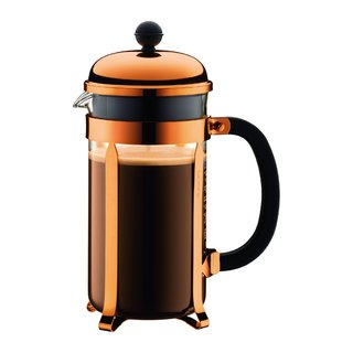 Bodum 1928-18 Chambord Coffee French Press, 34 oz, Copper