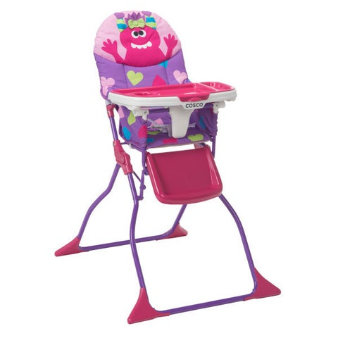 Cosco Simple Fold Deluxe High Chair in Shelley