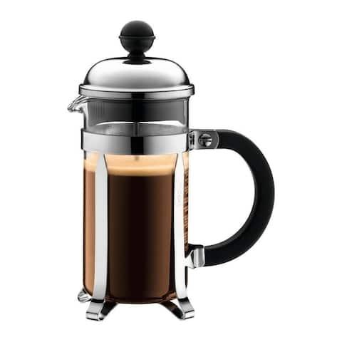 Bodum 1923-16US4 12-ounce Chambord French Press Coffee Maker