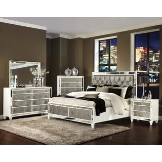 Magnussen B2935 Monroe Panel Bed with Storage Footboard