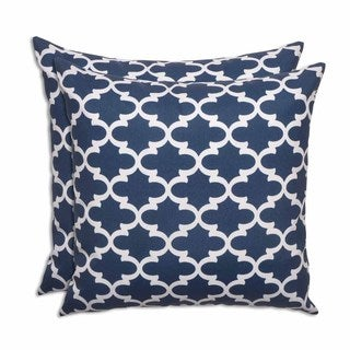 Fulton Oxford Indoor/Outdoor 17-inch Pillow - Set of 2