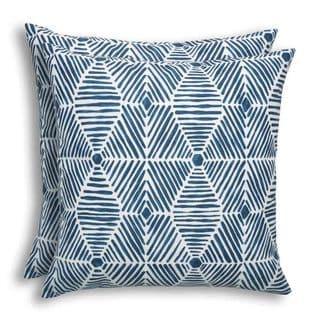 Heni Oxford Indoor/Outdoor 17-inch Pillow - Set of 2