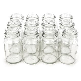 Clear 8-ounce Glass Jar (Case of 12)|https://ak1.ostkcdn.com/images/products/11409309/P18373811.jpg?impolicy=medium