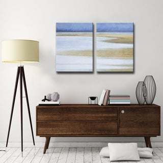 Ready2HangArt 'Coast at Dawn' by Norman Wyatt Jr. 2-PC Canvas Art Set