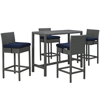 Stopover 5-piece Outdoor Patio Pub Set (3 options available)