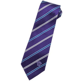 Versace 100-percent Italian Silk Purple Neck Tie
