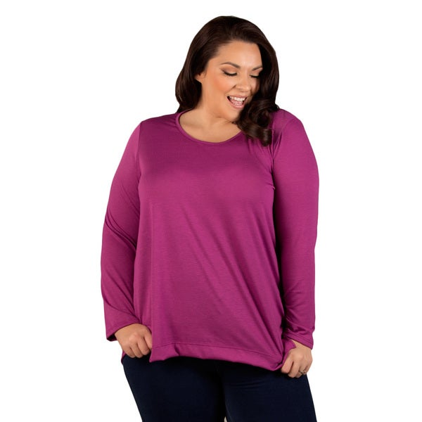 Sealed with a Kiss Women's Plus Size Jennifer Top