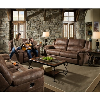 Simmons Mocha Phoenix Double-motion Sofa