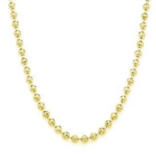 Decadence 14k Gold 2.50mm Moon Chain (More options available)