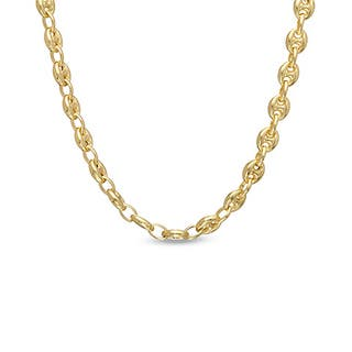 Decadence 14k Yellow Gold 6.5mm Puff Mariner Chain|https://ak1.ostkcdn.com/images/products/11409590/P18374085.jpg?impolicy=medium