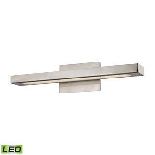 Alico Newbury Matte Satin Nickel 1-light Vanity