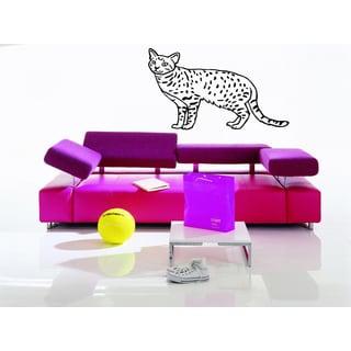 Ocicat Cat Breed Wall Art Sticker Decal