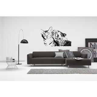 Ocicat Cat Breed Love Wall Art Sticker Decal