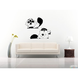 Himalayan Cat Breed Funny Wall Art Sticker Decal