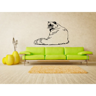 Himalayan Cat Breed Wall Art Sticker Decal