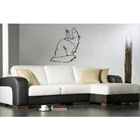 Muzzle Norwegian Forest Cat Wall Art Sticker Decal