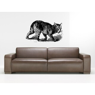 Manx Cat Breed Cat Kitten Pet Wall Art Sticker Decal