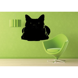 Russian Blue Cat Wall Art Sticker Decal
