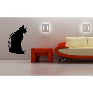 Oriental Cat Breed Wall Art Sticker Decal