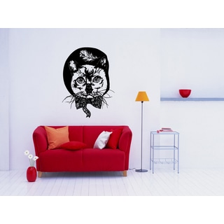 Funny Siamese Cat Breed Wall Art Sticker Decal