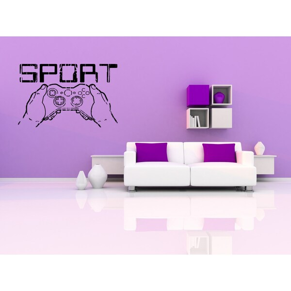 Sport Computer Games Wall Art Sticker Decal