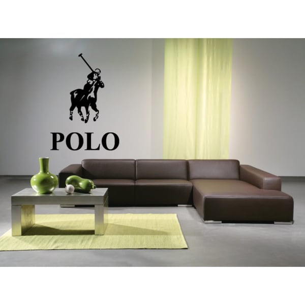 Game to Ride Horses Polo inscription Wall Art Sticker Decal - Free ...