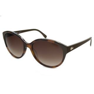 Lacoste Women's L774S Oval Sunglasses