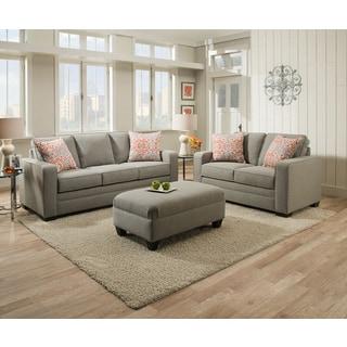 Simmons Upholstery Miramar Ash Queen Sleeper Sofa