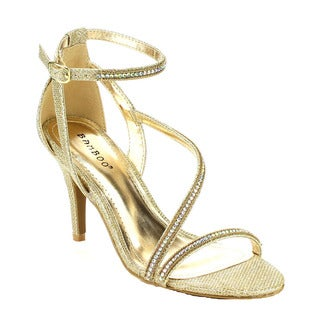 Bamboo Tully-15 Women's Glitter Dress Heels