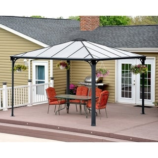 Palram Palermo 3600 12 ft. x 12 ft. Hard Top Gazebo
