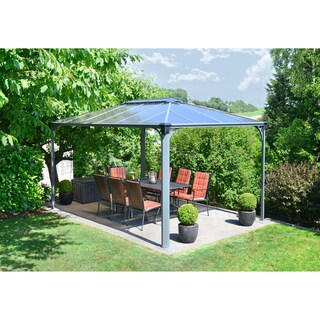 Palram Martinique 4300 14 ft. x 10 ft. Rectangle Hard Top Gazebo
