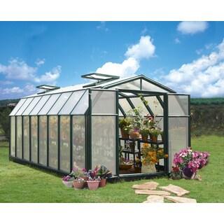 Palram Rion Hobby Gardener 8ft. x 16ft. Greenhouse