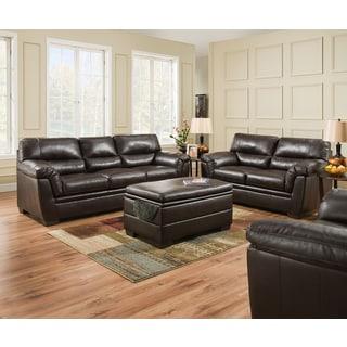 Simmons Upholstery Roman Chocolate Sofa