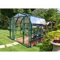 Palram Grand Gardener Clear 8ft. x 8ft. Greenhouse