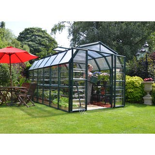 Palram Grand Gardener Clear 8ft. x 12ft. Greenhouse