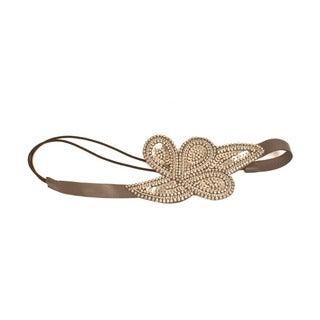 Handmade Cleopatra Silver Headband (India)