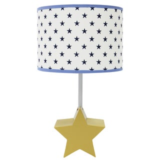 The Peanut Shell Stargazer Lamp with Shade