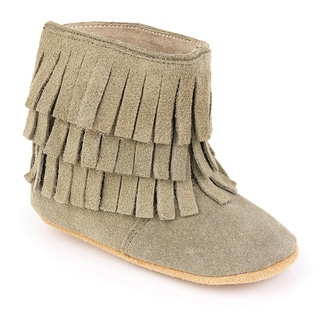 Augusta Baby Soft Sole Fringe Booties