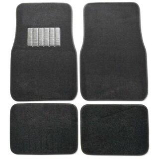 Premium Carpet Black Mats (Set of 4)