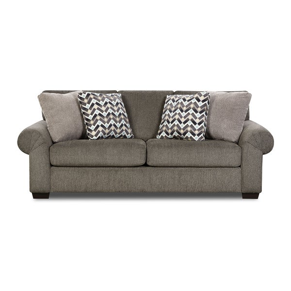Simmons Upholstery Tokyo Pebble Sofa   Free Shipping Today   Overstock.com    18377068
