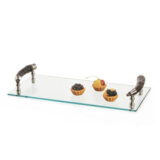 Barked Serving Tray