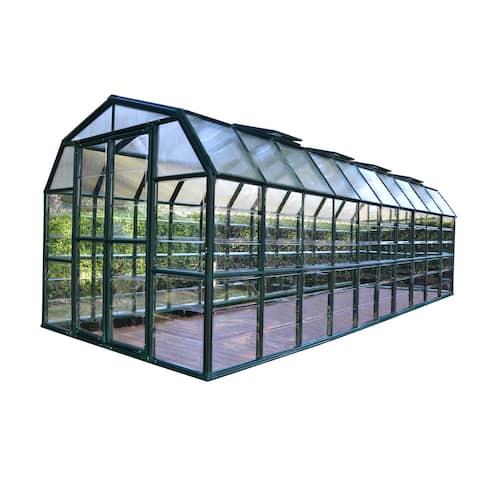 Palram Grand Gardener Clear 8ft. x 20ft. Greenhouse