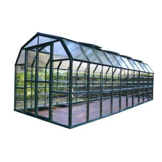 Palram Grand Gardener Clear 8ft. x 20ft. Greenhouse|https://ak1.ostkcdn.com/images/products/11413234/P18377178.jpg?impolicy=medium