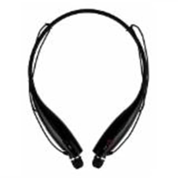 xtreme xfit sport black bluetooth neckband with magnetic earbuds and built in. Black Bedroom Furniture Sets. Home Design Ideas