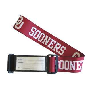 Sports Team Logo College Luggage Strap