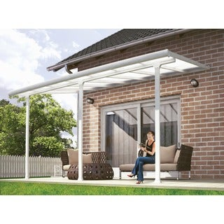 Feria White 10 x 14-inch Patio Cover
